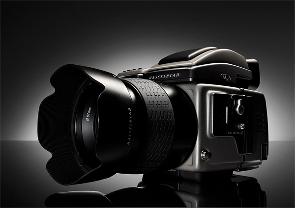 The Hasselblad H3DII, a 39 megapixel medium format digital camera.