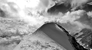 Four Men and a Mountain by Nick Adamson